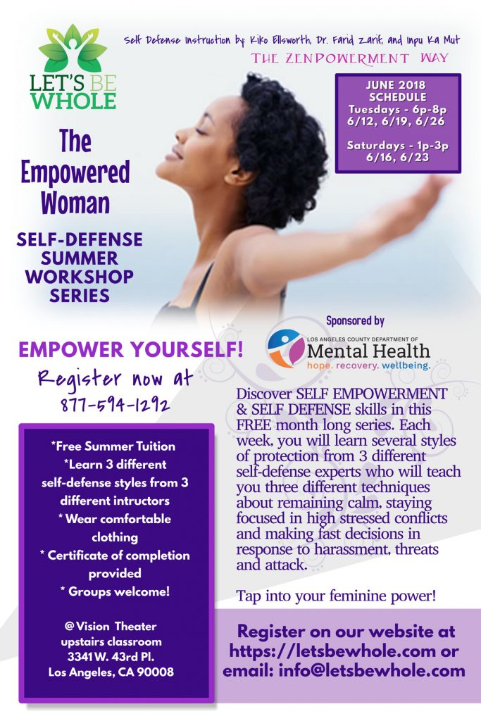 """The Empowered Woman"" Self-Defense Workshop Series"