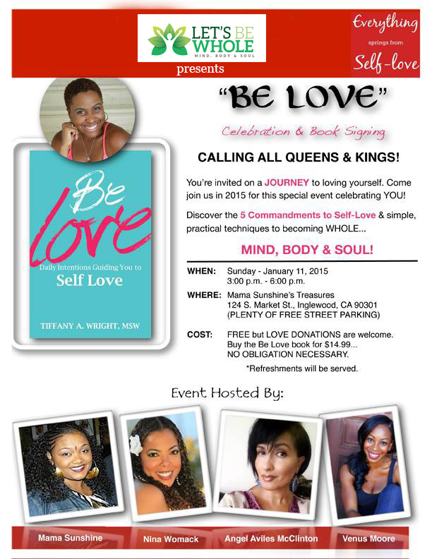 Be Love Book Signing & Holistic Event
