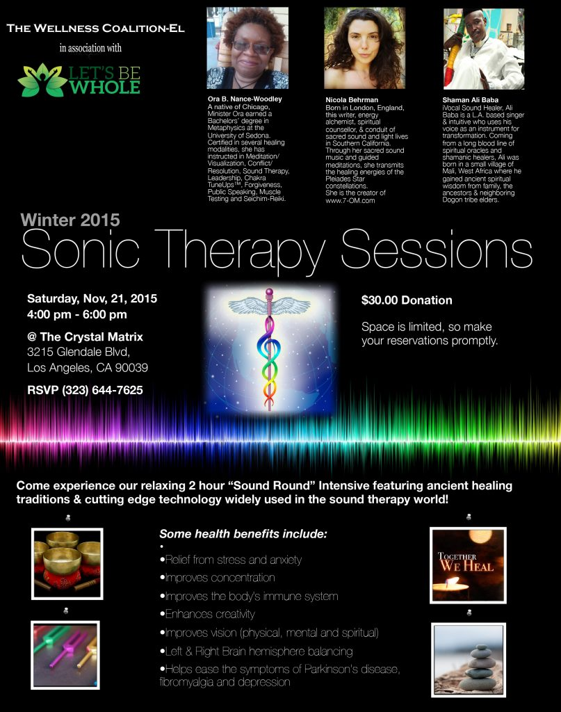Sonic Therapy Session
